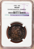 Proof Barber Half Dollars: , 1902 50C --Environmental Damage--NGC Details. Proof. NGC Census:(1/202). PCGS Population (5/232). Mintage: 777. Numismedia ...