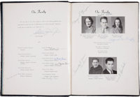 1943 Vince Lombardi Signed St. Cecilia High School Yearbook