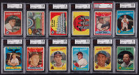 1959 Topps Baseball Complete Set (572) Plus Wrappers and Game Ticket Stubs