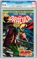 Bronze Age (1970-1979):Horror, Tomb of Dracula #10 (Marvel, 1973) CGC NM+ 9.6 Off-white to white pages....
