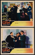 "Movie Posters:Mystery, Enemy Agents Meet Ellery Queen (Columbia, 1942). Lobby Cards (2)(11"" X 14""). Mystery. ... (Total: 2 Items)"