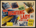 "Movie Posters:War, The Fighting Lady (20th Century Fox, 1944). Title Lobby Card (11"" X14""). War Documentary. ..."