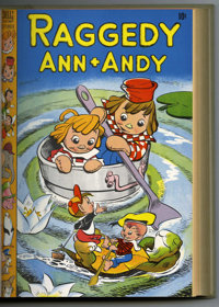 Raggedy Ann and Andy #25-39 Bound Volume (Dell, 1948-49)