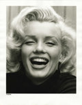 Movie/TV Memorabilia:Photos, Marilyn Monroe Limited Edition Eisenstaedt Photograph. An elatedand radiant Marilyn Monroe captured in a candid moment by p...(Total: 1 Item)