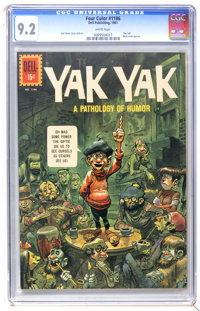 Four Color #1186 Yak Yak (Dell, 1961) CGC NM- 9.2 White pages