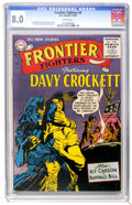 Silver Age (1956-1969):Western, Frontier Fighters #4 (DC, 1956) CGC VF 8.0 White pages....