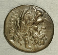 Ancients:Greek, Ancients: Thessaly, Thessalian League. Ca. 196-146 B.C. AR stater(22 mm, 5.63 g). Laureate head of Zeus right / Athena advancingrigh...