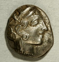 Ancients:Greek, Ancients: Attica, Athens. Ca. 449-404 B.C. AR tetradrachm (21 mm,17.16 g). Helmeted head of Athena right / Owl standing right, headf...