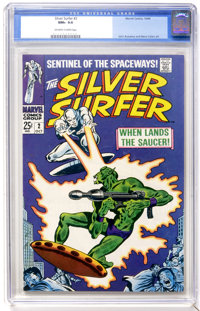 The Silver Surfer #2 (Marvel, 1968) CGC NM+ 9.6 Off-white to white pages