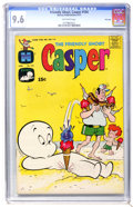 Bronze Age (1970-1979):Cartoon Character, Friendly Ghost Casper #154 File Copy (Harvey, 1971) CGC NM+ 9.6 Off-white pages....