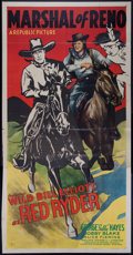Memorabilia:Poster, Marshall of Reno Movie Poster Group (Republic, 1944)....(Total: 4 Items)