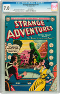 Golden Age (1938-1955):Science Fiction, Strange Adventures #41 Twin Cities pedigree (DC, 1954) CGC FN/VF7.0 White pages....