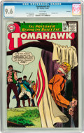 Silver Age (1956-1969):Adventure, Tomahawk #97 Savannah pedigree (DC, 1965) CGC NM+ 9.6 White pages....