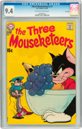 Bronze Age (1970-1979):Cartoon Character, The Three Mouseketeers #1 Savannah pedigree (DC, 1970) CGC NM 9.4Off-white to white pages....