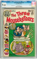 Bronze Age (1970-1979):Humor, The Three Mouseketeers #6 Savannah pedigree (DC, 1971) CGC NM+ 9.6Off-white to white pages....