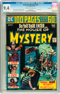 Bronze Age (1970-1979):Horror, House of Mystery #225 Savannah pedigree (DC, 1974) CGC NM 9.4Off-white to white pages....