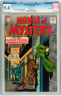 Silver Age (1956-1969):Mystery, House of Mystery #134 Savannah pedigree (DC, 1963) CGC NM 9.4Off-white pages....