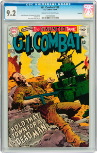G.I. Combat #129 Savannah pedigree (DC, 1968) CGC NM- 9.2 Cream to off-white pages