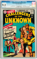 Silver Age (1956-1969):Adventure, Challengers of the Unknown #48 Savannah pedigree (DC, 1966) CGC NM- 9.2 Cream to off-white pages....