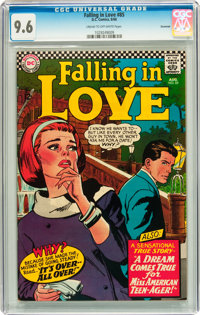 Falling in Love #85 Savannah pedigree (DC, 1966) CGC NM+ 9.6 Cream to off-white pages