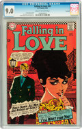 Silver Age (1956-1969):Romance, Falling in Love #83 Savannah pedigree (DC, 1966) CGC VF/NM 9.0Cream to off-white pages....