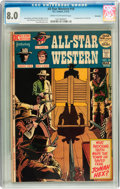 Bronze Age (1970-1979):Western, All-Star Western #10 Savannah pedigree (DC, 1972) CGC VF 8.0 Cream to off-white pages....