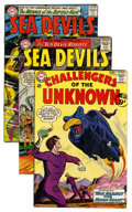 Silver Age (1956-1969):Superhero, Challengers of the Unknown/Sea Devils Group (DC, 1964-66)Condition: Average Qualified VG/FN.... (Total: 20 Comic Books)