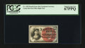 Fractional Currency:Fourth Issue, Fr. 1259 10¢ Fourth Issue PCGS Superb Gem New 67PPQ.. ...