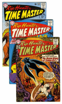 Rip Hunter Time Master #9 and 14-18 Group (DC, 1962-63) Condition: Average Qualified FN/VF