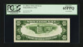 Error Notes:Inverted Reverses, Fr. 2006-G $10 1934A Inverted Reverse Federal Reserve Note. PCGSGem New 65PPQ.. ...
