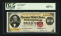 Large Size:Gold Certificates, Fr. 1214 $100 1882 Gold Certificate PCGS Gem New 66PPQ.. ...
