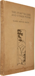 Books:Horror & Supernatural, Clark Ashton Smith. The Star-Treader and Other Poems. SanFrancisco: A. M. Robertson, 1912. First edition. Sig...