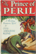 Books:Science Fiction & Fantasy, Otis Adelbert Kline. The Prince of Peril. The Weird Adventures of Zinlo, Man of Three Worlds, Upon the Mysteri...