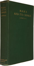 Books:Science & Technology, Percival Lowell. Mars and Its Canals. New York: The Macmillan Company, 1906. First edition. Octavo. [xvi], 393, ...