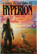Books:Science Fiction & Fantasy, Dan Simmons. Hyperion. New York, et al.: Doubleday, [1989]. First edition. Signed by the author on the title...