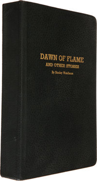 Stanley Weinbaum. Dawn of Flame and Other Stories. [Jamaica, NY: Ruppert Printing Se