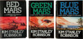 Books:Science Fiction & Fantasy, Kim Stanley Robinson: The Mars Trilogy, including: Red Mars;Green Mars; Blue Mars. London: Harper C... (Total: 3Items)