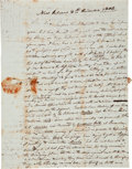 Autographs:Military Figures, [Louisiana Purchase] Important 1804 Letter Illustrating the Strained Relationship Between the United States and Spain After th...