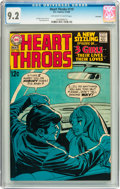 Silver Age (1956-1969):Romance, Heart Throbs #119 Savannah pedigree (Quality/DC, 1969) CGC NM- 9.2Off-white to white pages....