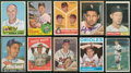 Baseball Cards:Autographs, Pitching Legends Signed Cards Lot of 10....