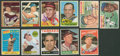 Baseball Cards:Autographs, Baseball Legends Signed Cards Lot of 11. ...