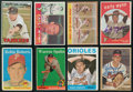 Baseball Cards:Autographs, Pitching Legends Signed Cards Lot of 8. ...