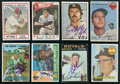 Baseball Cards:Autographs, Baseball Legends Signed Cards Lot of 8. ...