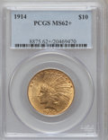 Indian Eagles, 1914 $10 MS62+ PCGS. PCGS Population (552/509). NGC Census:(581/450). Mintage: 151,050. Numismedia Wsl. Price for problem ...