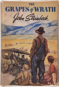 Books:First Editions, John Steinbeck. The Grapes of Wrath. New York: Viking,[1939]. First edition. Octavo. 619 pages. Publisher's bin...