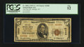 National Bank Notes:West Virginia, Albright, WV - $5 1929 Ty. 2 The First NB Ch. # 10480. ...