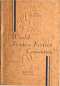 Books:Signed Editions, World Science Fiction Convention: Official Souvenir Journal.New York City July 2, 3, 4, 1939. [N.p.: n.p., n.d...