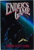 Books:First Editions, Orson Scott Card. Ender's Game. [New York]: Tor / A TomDoherty Associates Book, [1985]. First edition. Octavo. ...