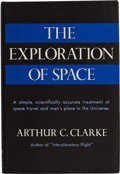 Books:Signed Editions, Arthur C. Clarke. The Exploration of Space. New York: Harper & Brothers, [1951]. Book club edition. Octavo. 199 page...