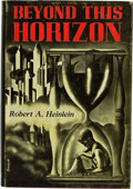 Books:Signed Editions, Robert A. Heinlein. Beyond this Horizon. Reading,Pennsylvania: Fantasy Press, 1948. One of 500 numbered andautogra...